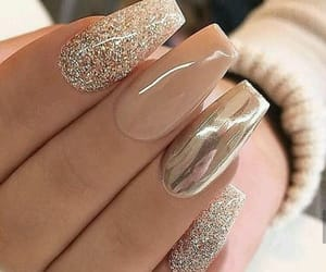 beauty, nail art, and girl image