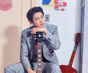 exo, guitar, and park image