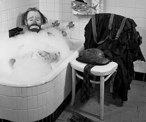 bubble bath, Sagittarius, and emmett kelly image