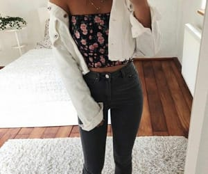 date, girl, and outfit image
