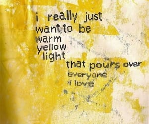 yellow, quotes, and love image