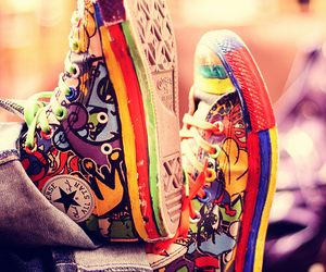 beautiful, color, and converse image