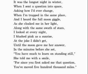 poem, moon, and stars image
