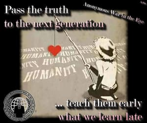 anonymous, truth, and we are one image