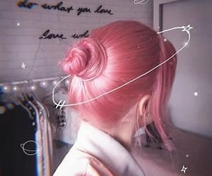 girl, aesthetic, and hair image