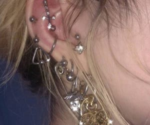 accessoires, earrings, and edgy image