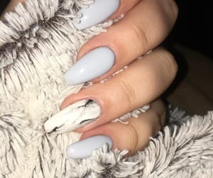 beauty, gel, and grey image