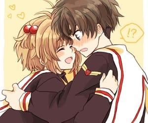 anime, sakura, and anime couple image