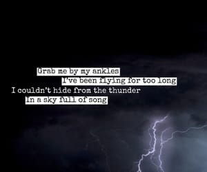 florence welch, sky full of song, and Lyrics image