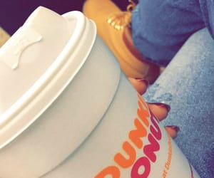 سفر مطار, latte dunkin' donuts, and caffeine coffee drink image