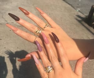 girls, nails, and tumblr image