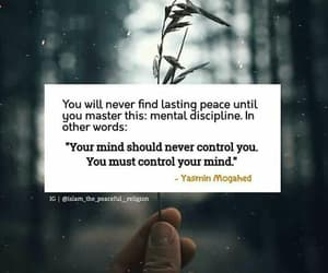 control your mind and its permanently peace image