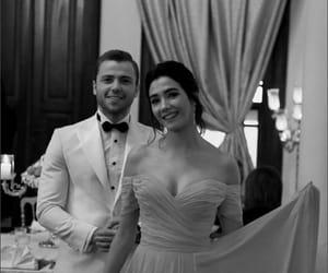 ball, couple, and dance image