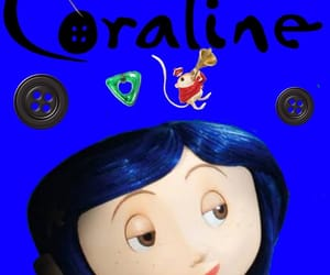 coraline, morado, and cute image