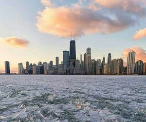 america, chicago, and city image