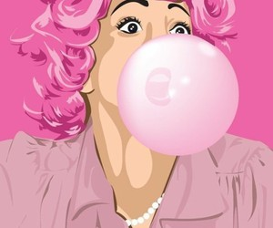 bubblegum, grease, and pastel image