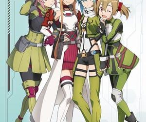 asuna, cute, and anime girls image