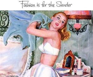 1950s, art, and fashion image