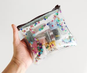 etsy, confetti bag, and clear bags image