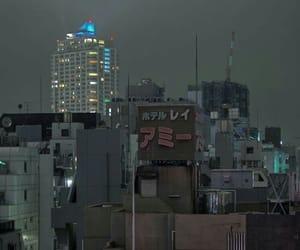 japan, night, and city image