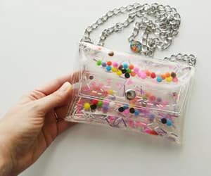 chain purse, etsy, and 90s fashion image