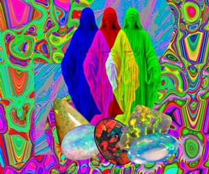 crystals, gems, and lsd image