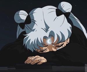 anime, sailor moon, and sad image