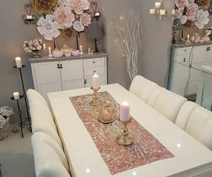 home, decoration, and dining room image