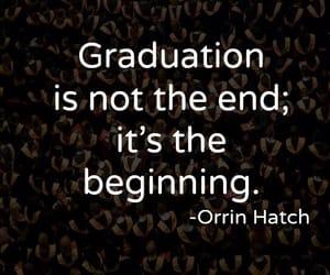 beginning, graduation, and studies image