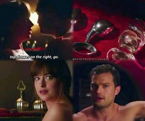 forever, fifty shades of grey, and love image