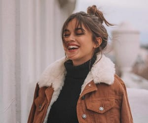 fashion, girl, and smile image