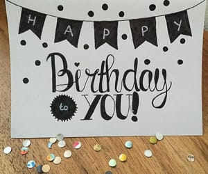 cards, diy, and happy birthday image