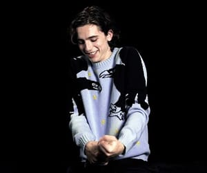 boy, chalamet, and funny image