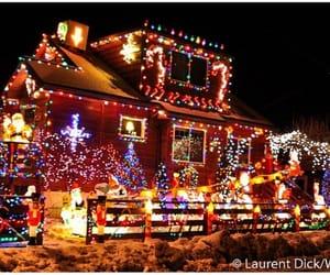 alaska, christmas, and house image