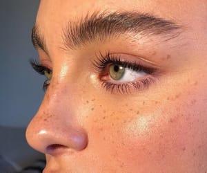 makeup, natural, and eyebrows image