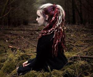 beautiful, girl, and dreadlocks image
