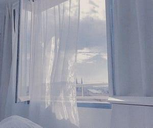 aesthetic, window, and sky image