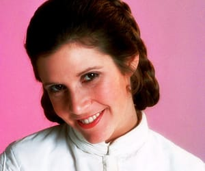 star wars, carrie fisher, and pretty image