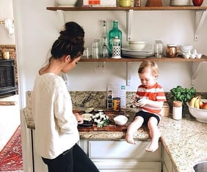 baby and kitchen image
