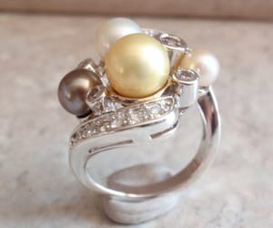 etsy, rings, and vintage ring image