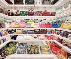 kylie jenner house and handbag closet image