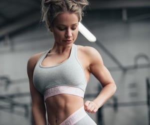 abs, healthy, and muscle image