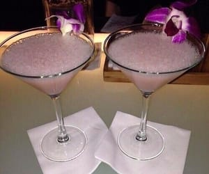 drink, luxury, and pink image