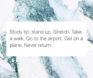quotes, funny, and study image