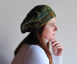 winter hat, gifts for her, and hand knit hat image