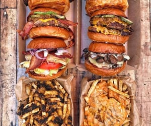 burger, burgers, and inspiration image
