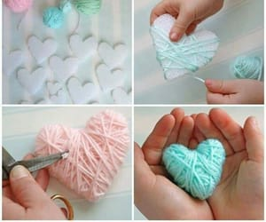diy, decor, and hearts image