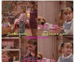 full house, mary kate olsen, and michelle image
