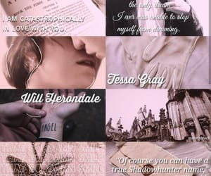 aesthetic, otp, and will herondale image