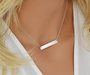 etsy, personalized, and silver jewelry image